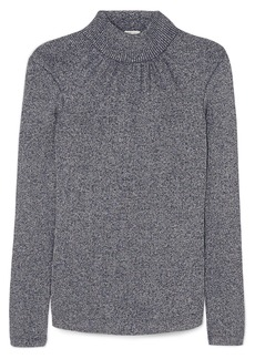 Golden Goose Gardena Gathered Lurex Turtleneck Sweater