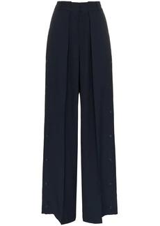 Golden Goose Bertilla wide leg buttoned cuff trousers
