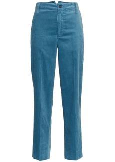 Golden Goose wide leg corduroy cotton chino trousers