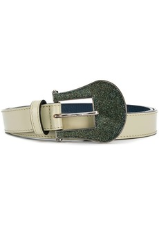 Golden Goose glitter buckle belt