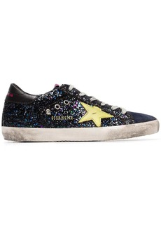 Golden Goose glitter embellished Superstar sneakers