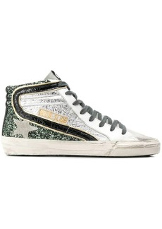 Golden Goose glitter hi-top sneakers