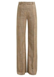 Golden Goose Checked high-rise trousers