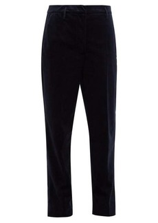 Golden Goose Cropped velvet trousers