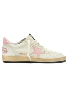Golden Goose Deluxe Brand Ball Star low-top crackled leather trainers