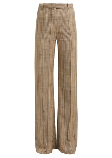 Golden Goose Deluxe Brand Checked high-rise trousers