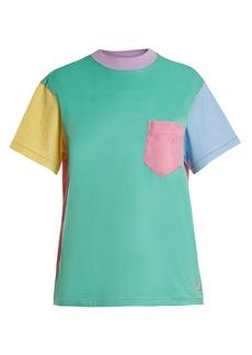 Golden Goose Deluxe Brand Contrast-panelled crew-neck T-shirt