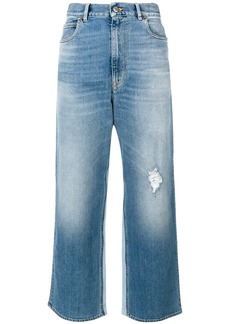 Golden Goose Deluxe Brand cropped flared jeans - Blue