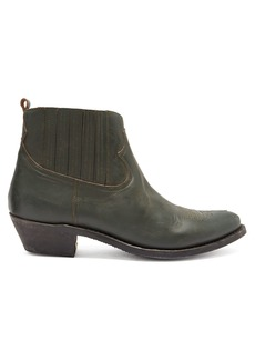 Golden Goose Deluxe Brand Crosby leather ankle boots