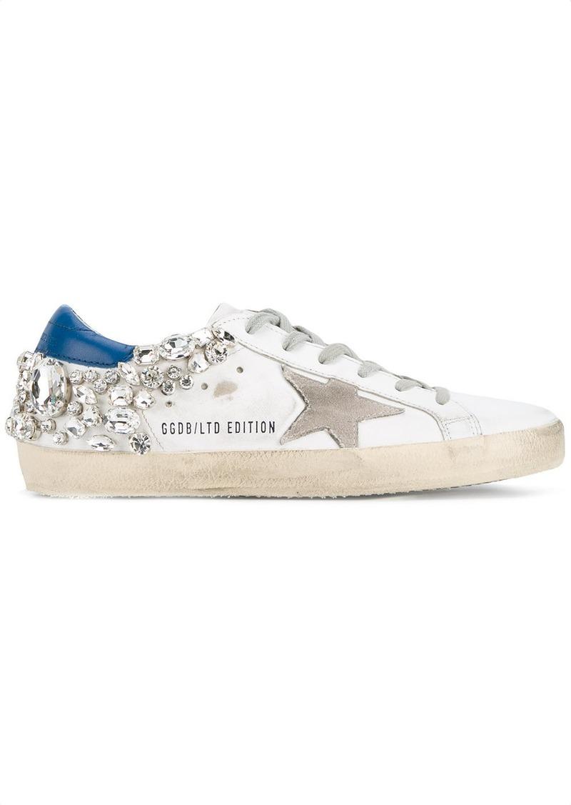 Golden Goose crystal embellished Superstar sneakers