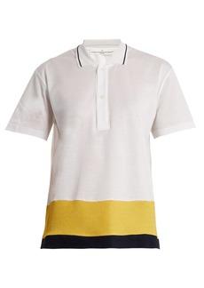 Golden Goose Deluxe Brand Dalila contrast-panel piqué polo shirt