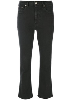 Golden Goose Deluxe Brand flared cropped jeans - Black