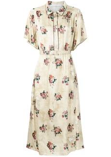 Golden Goose Deluxe Brand floral print dress - Nude & Neutrals