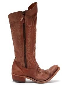 Golden Goose Deluxe Brand Golden leather boots