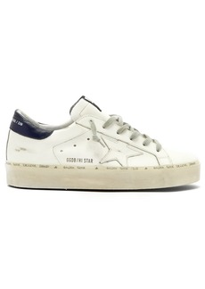 Golden Goose Hi Star low-top leather trainers