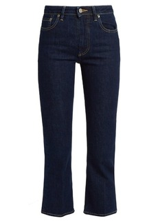 Golden Goose Deluxe Brand High-rise cropped bootcut jeans