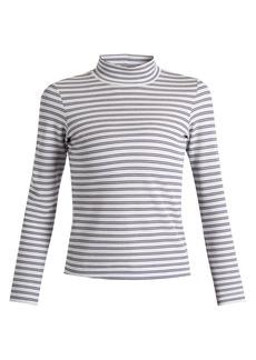 Golden Goose Deluxe Brand Iman striped cotton-blend jersey T-shirt