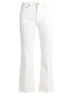 Golden Goose Deluxe Brand Kick-flare cropped jeans
