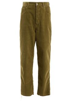 Golden Goose Deluxe Brand Kim high-rise straight-leg corduroy jeans