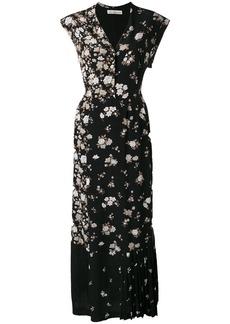 Golden Goose Deluxe Brand long patchwork dress - Black