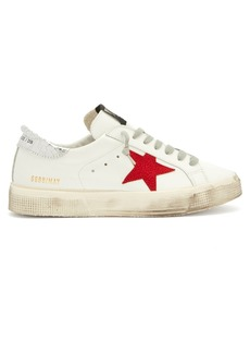 Golden Goose Deluxe Brand May leather low-top trainers
