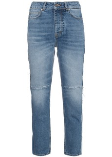 Golden Goose Mid rise patchwork jeans
