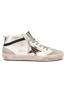 Golden Goose Deluxe Brand Mid Star mid-top leather trainers