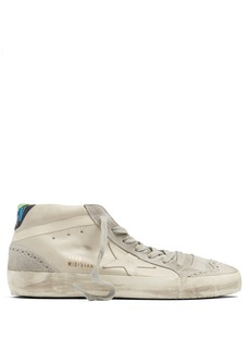 Golden Goose Deluxe Brand Midstar leather and suede trainers