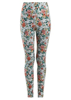 Golden Goose Deluxe Brand Ridanna floral-print leggings