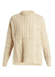Golden Goose Deluxe Brand Rochere cable-knit wool sweater