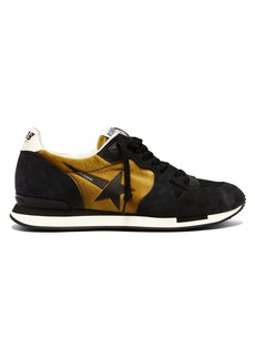 Golden Goose Deluxe Brand Running suede and velvet trainers