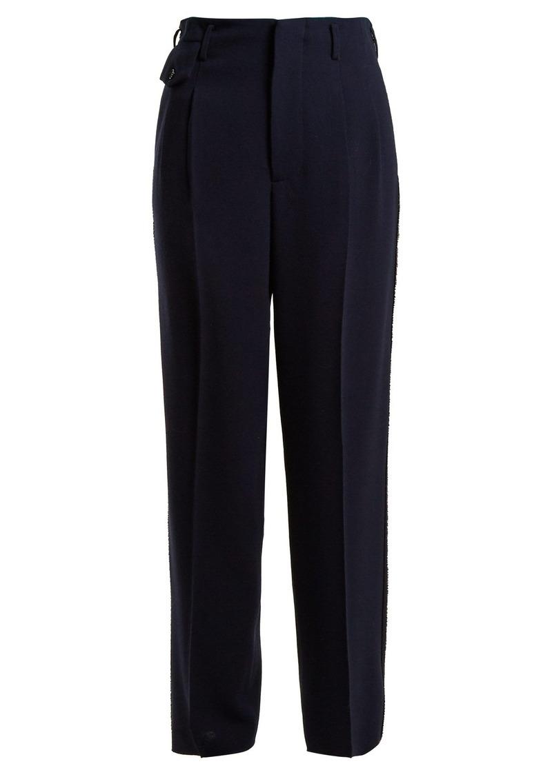 Golden Goose Deluxe Brand Sally high-rise straight-leg trousers