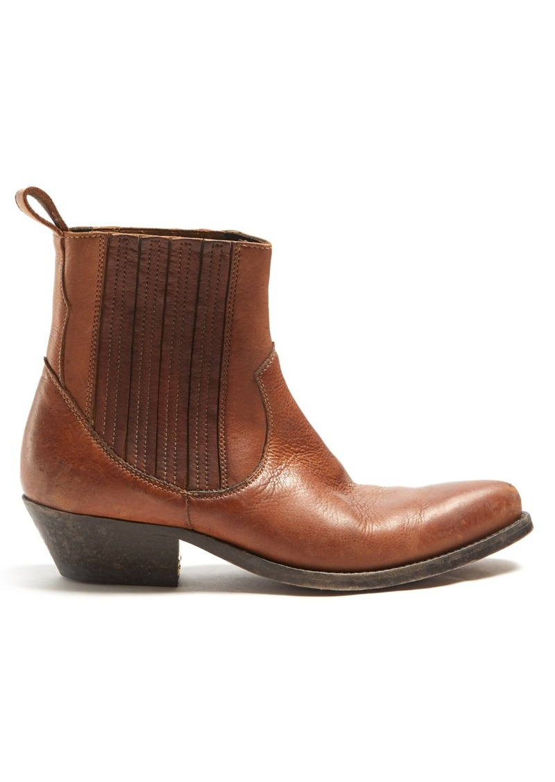 793e852866a Deluxe Brand Santiago leather ankle boots