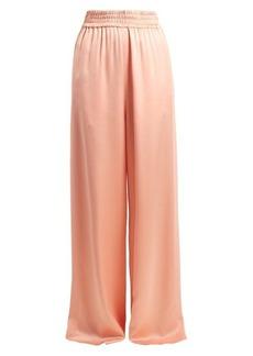 Golden Goose Sophie wide-leg satin track pants