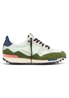 Golden Goose Deluxe Brand Starland suede and nylon low-top trainers