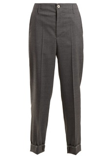 Golden Goose Deluxe Brand Straight-leg wool chino trousers