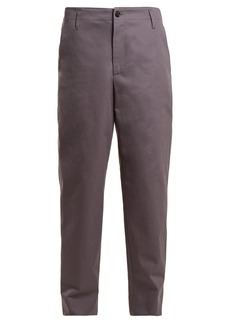 Golden Goose Deluxe Brand Straight-leg cotton chino trousers