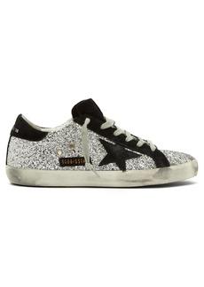 Golden Goose Deluxe Brand Superstar glitter low-top trainers