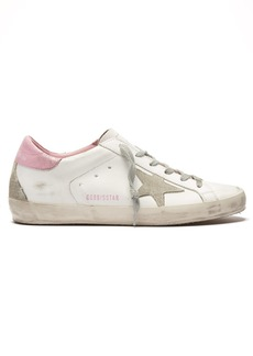 Golden Goose Deluxe Brand Superstar low-top leather and suede trainers