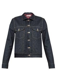 Golden Goose Deluxe Brand Tea padded-lining denim jacket