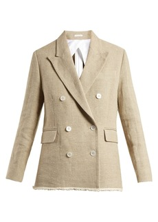 Golden Goose Deluxe Brand Virna double-breasted canvas jacket