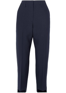 Golden Goose Deluxe Brand Woman Crepe Tapered Pants Navy