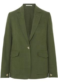 Golden Goose Deluxe Brand Woman Saturnia Linen Blazer Leaf Green