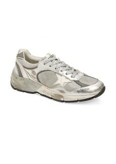Golden Goose Deluxe Dad-Star Silver Low Top Sneaker (Women) (Nordstrom Exclusive)