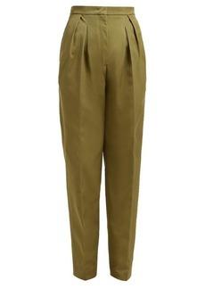 Golden Goose Felicia high-rise straight-leg trousers