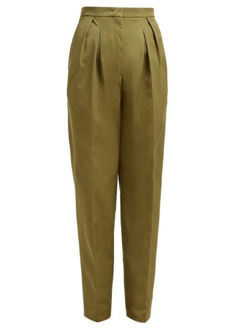 Golden Goose Felicia high-rise straight-leg trousers