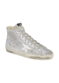 Golden Goose Francy High Top Sneaker with Genuine Shearling (Women)