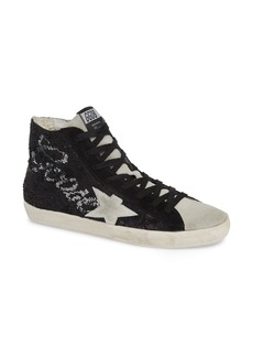 Golden Goose Francy Sequin Logo High Top Sneaker (Women)