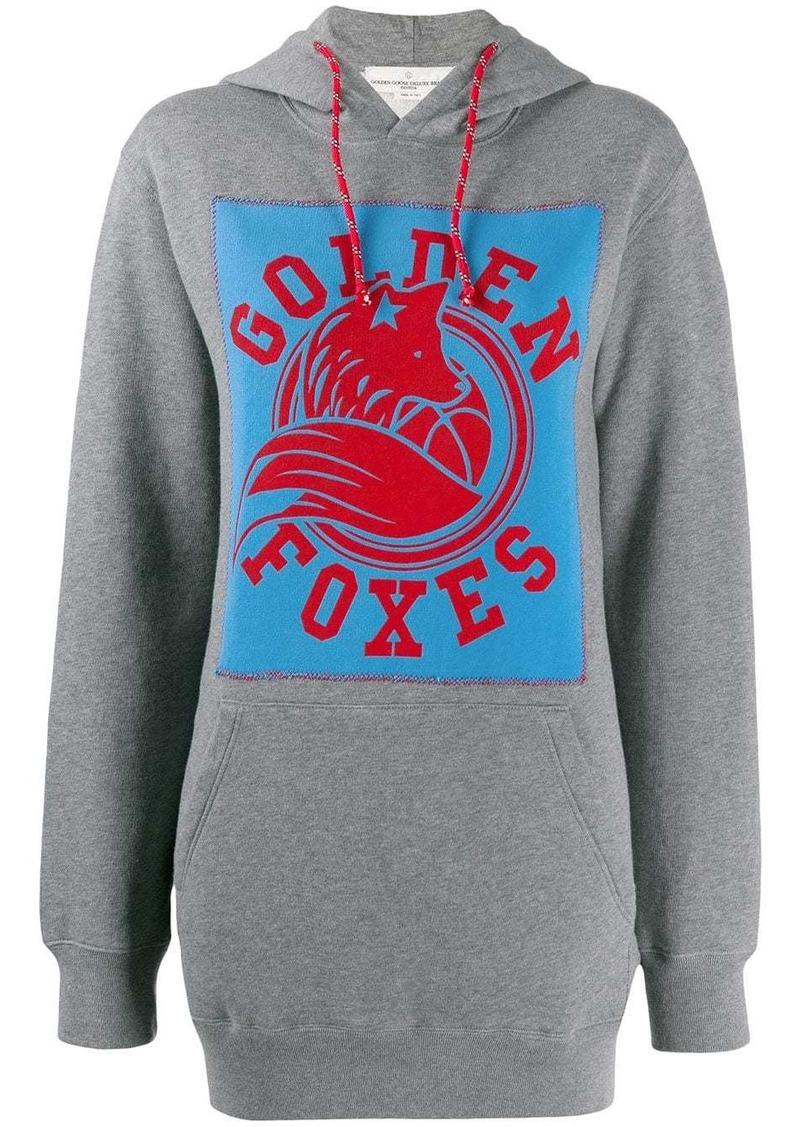 Golden Goose Golden foxes print hoodie