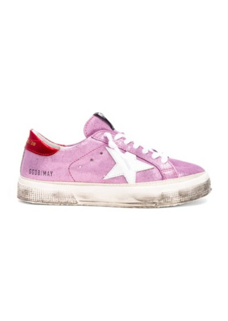 Golden Goose Glitter May Sneakers